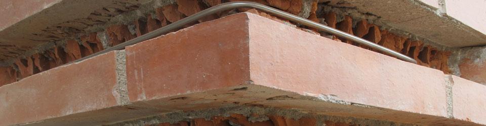 Refuerzos estructurales realizadas