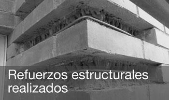 Refuerzos estructurales realizados