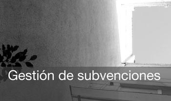 Gestion de subvenciones