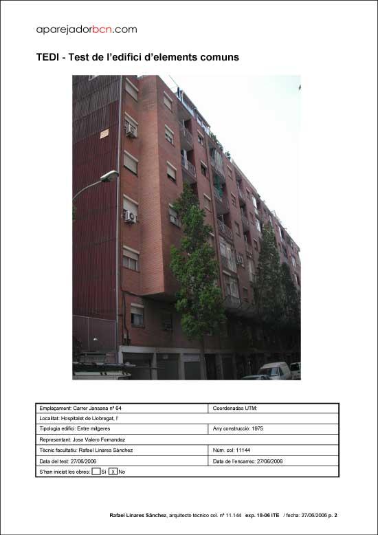TEDI C/ Jansana nº 64. 08906 - L'Hospitalet de Llobregat.