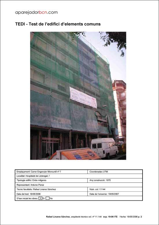 TEDI C/ Engenyier Moncunill nº 7. 08906 - L'Hospitalet de Llobregat.