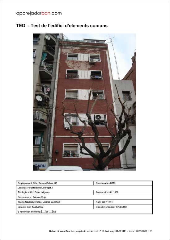 TEDI C/ Severo Ochoa nº 67. 08906 - L'Hospitalet de Llobregat.