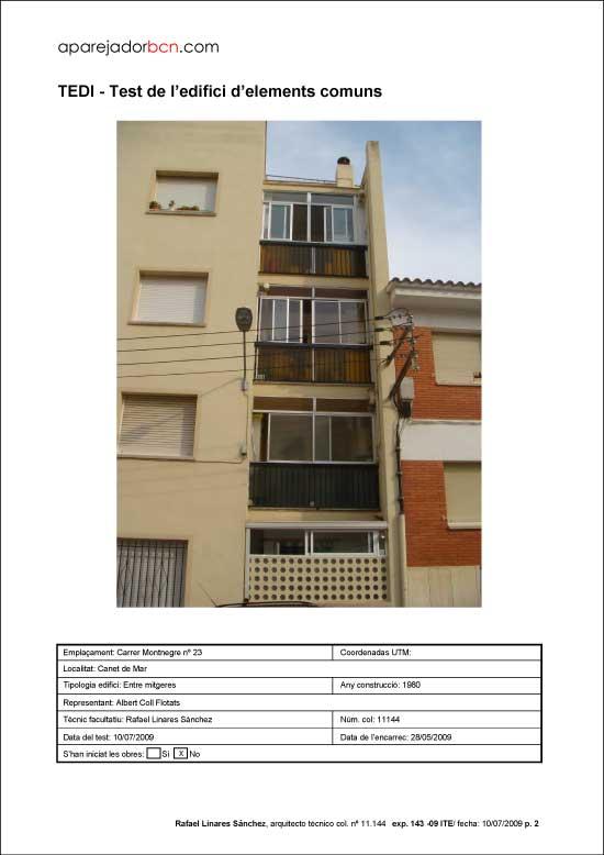 TEDI C/ Montnegre nº 23. 08360 - Canet de Mar.