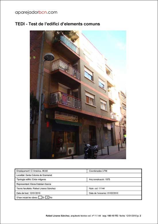 TEDI C/ América nº 90-92. 08924 - Santa Coloma de Gramanet.