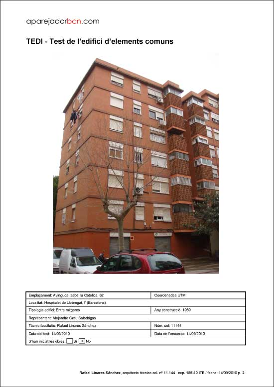 TEDI Av. Isabel la Católica nº 62. 08906 - L'Hospitalet de Llobregat.